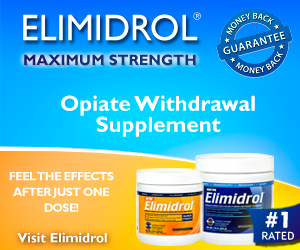Elimidrol - Home remedy for opiate withdrawal